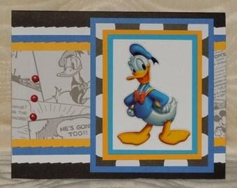"Handmade ""Donald"" Birthday Card"