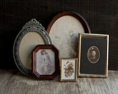 Vintage Frame Collection - Victorian Metal and Wood