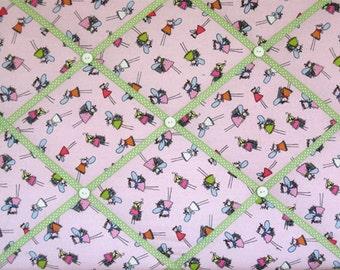 Fabric Memory Board  16 X 20  Girl  Toddler