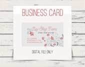 Customized Business Cards - Calling Cards - Premade - 26 - Free Clipart w order
