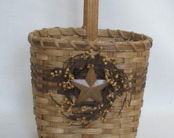 Tote Basket / Handwoven Basket / Gift Basket