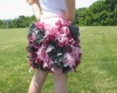 ruffle skirt pattern, crochet pattern, kids skirt pattern, summer skirt