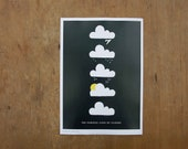 The Various Lives Of Clouds art print (small)