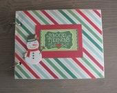 Christmas Scrapbook/Mini Album: Good Tidings' Mini Album