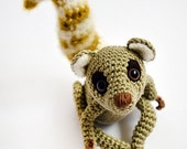 Sartù the Lemur - amigurumi pattern (eng)