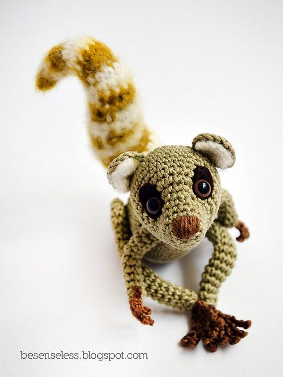 Sartù the Lemur - amigurumi pattern (eng)