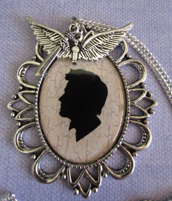 Castiel Cameo Pendant (Supernatural)