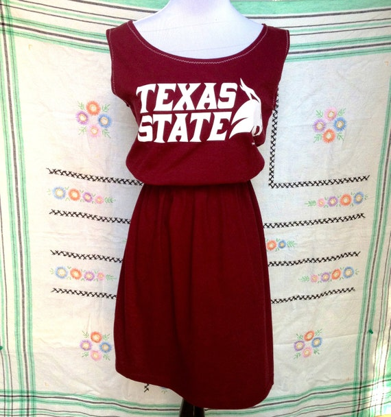LAST ONE Texas State Bobcats Game Day T Shirt Tee Dress