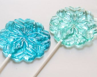 Snowflake Lollipops 8 pieces