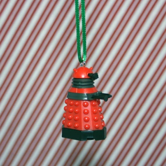 Items similar to Doctor Who Red Dalek Christmas Ornament ...