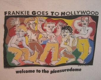 Original FRANKIE Goes To HOLLYWOOD vintage 1984 tour TSHIRT