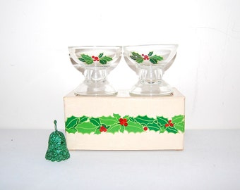 Vintage Candle Holders Avon 1981 Hostess Gift