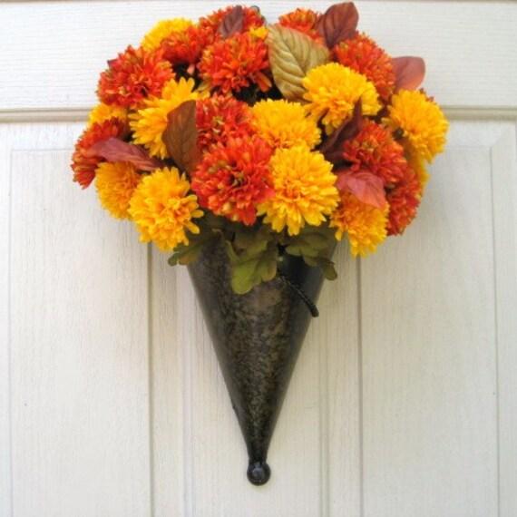 Autumn Wreaths, Fall Wreaths, Autumn Decor, Outdoor Wreaths, Holidays, Harvest Decoration