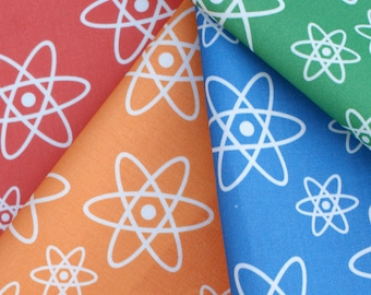 Atomic Orbits Chemistry Fat Quarter Science Fabric