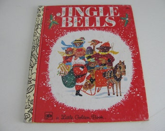 CHRISTMAS CLEARANCE Jingle Bells A Little Golden Book 1975 Sixth Printing