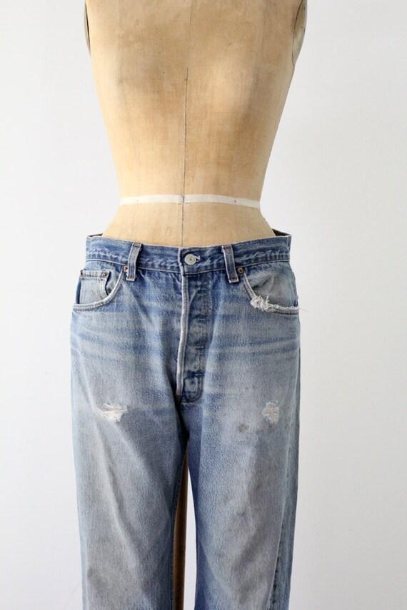 Vintage Levis 501xx Denim Jeans / 1980s American Jeans / W 34