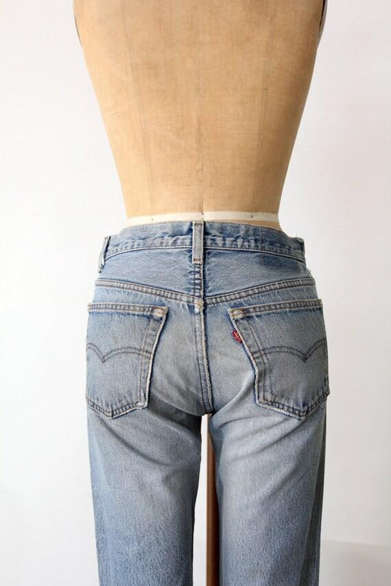 Vintage Levis 501 Jeans 1980s Denim W 30