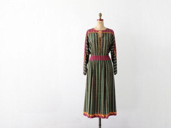 1980s Diane Fres Dress // Vintage Designer Dress