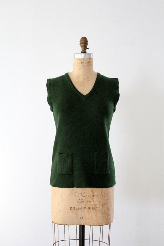 1970s Sears sweater vest