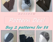 PDF Crochet PATTERN Deal: Buy 2 Patterns and Save