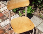 Vintage Childs Schoolhouse Chair.
