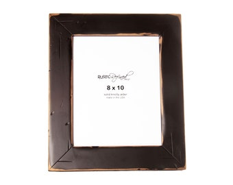 8x10 Cabin picture frame - Black
