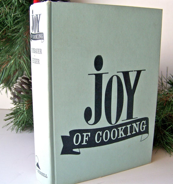 JOY OF COOKING, 1964 EDITION CERY NICE FOR A 53 YEAR OLD BOOK NO RESERVE FRESHPG