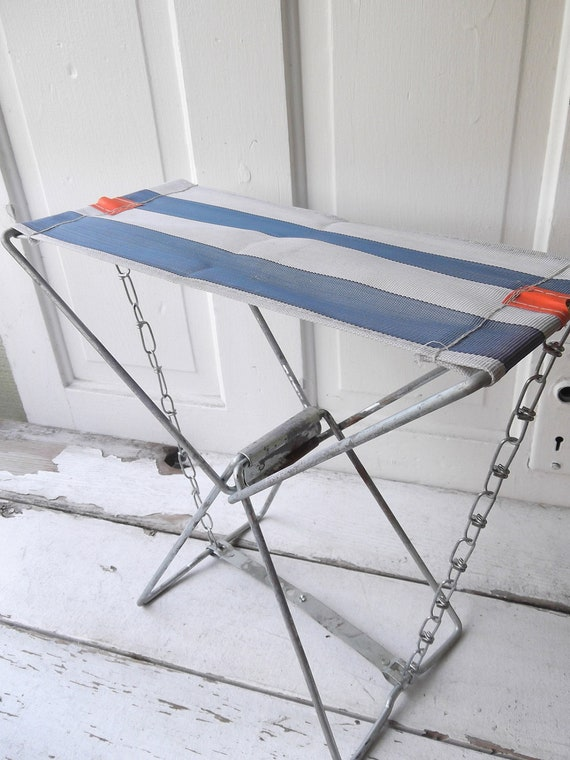 Vintage Collapsible Fisherman's Chair