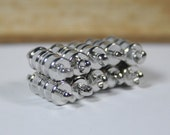 Strong Magnetic silver clasps 20 Psc   theBeadtriss  READY to SHIP