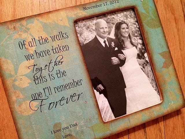 Bride Gift Father Of The Sayings: Father Daughter Wedding Walking Down Aisle By Crystalbucket