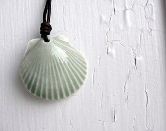 Porcelain Shell Necklace
