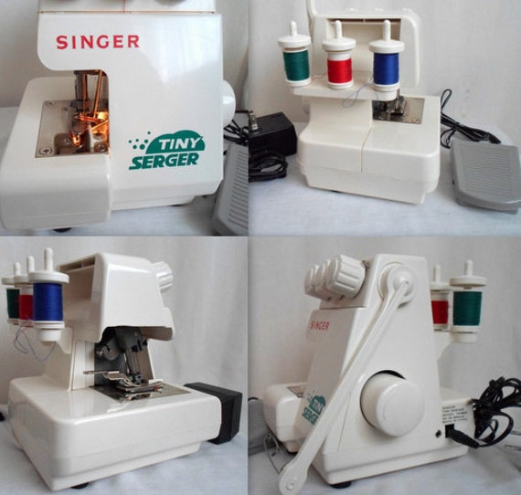 SINGER Tiny Serger Machine with Pedal & Power Cord