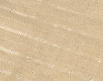 Cream Unknown Fabric Scrap QG0812 SALE WAS 13