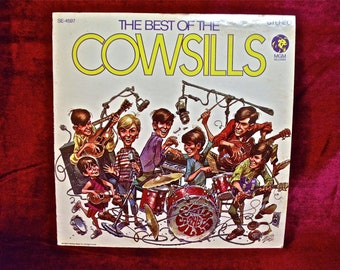 THE COWSILLS - The Best of the Cowsills - 1968 Vintage Vinyl Record Album