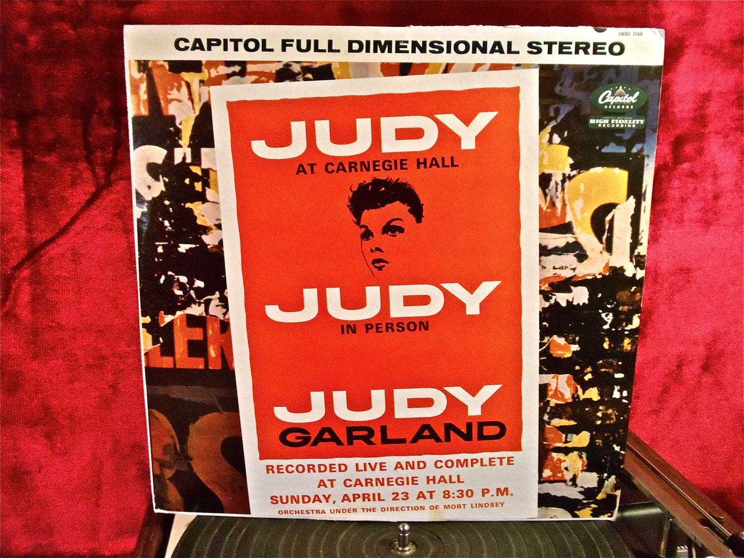 Judy Garland Judy At Carnegie Hall 1961 By Thevinylfrontier