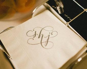 Calligraphy Monogram Custom and Hand Written