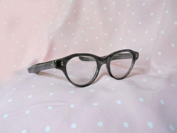 Cateye Glasses 60s Vintage Eyeglass Frames by Victory