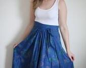 1970s Bohemian Love Skirt