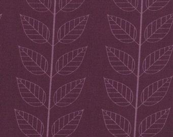 Simply Color Eggplant Leafy Stripe 10805 - 15