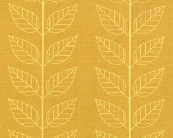 Simply Color Mustard Leafy Stripe 10805 - 17