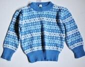 Blue Tots Sweater 2 Yrs.