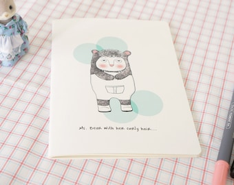 Sketch Book - Stitched -A5 size - Ms.Bear