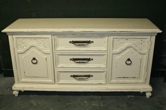 Ornate Veranda Ivory Dresser