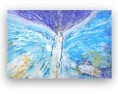PRICE Cut ~ Original Healing Angel Painting by Alma Yamazaki