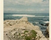 "Vintage Photo ""Beautiful Ocean"", Photography, Paper Ephemera, Snapshot, Old Photo, Collectibles - FT029"