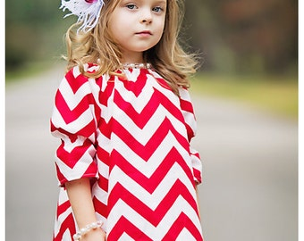 Baby Headband, Headband, Children, Flower Headband, Valentne Headband, Baby, Photo Prop / Red and White Rosette Headband