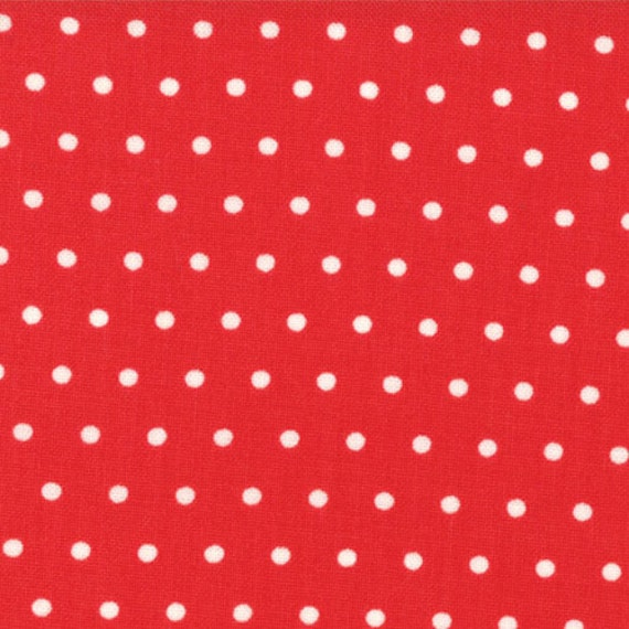 """End of the Bolt 16.5"""" of Vintage Modern Candy Apple Dots"""