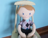 Custom Order for Jen--Two custom boy dolls