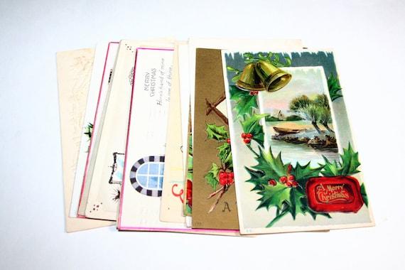 15 Vintage Christmas Postcards