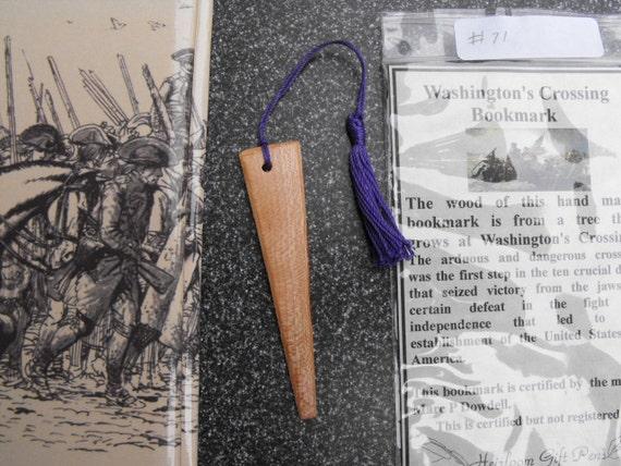 George Washington History Bookmark
